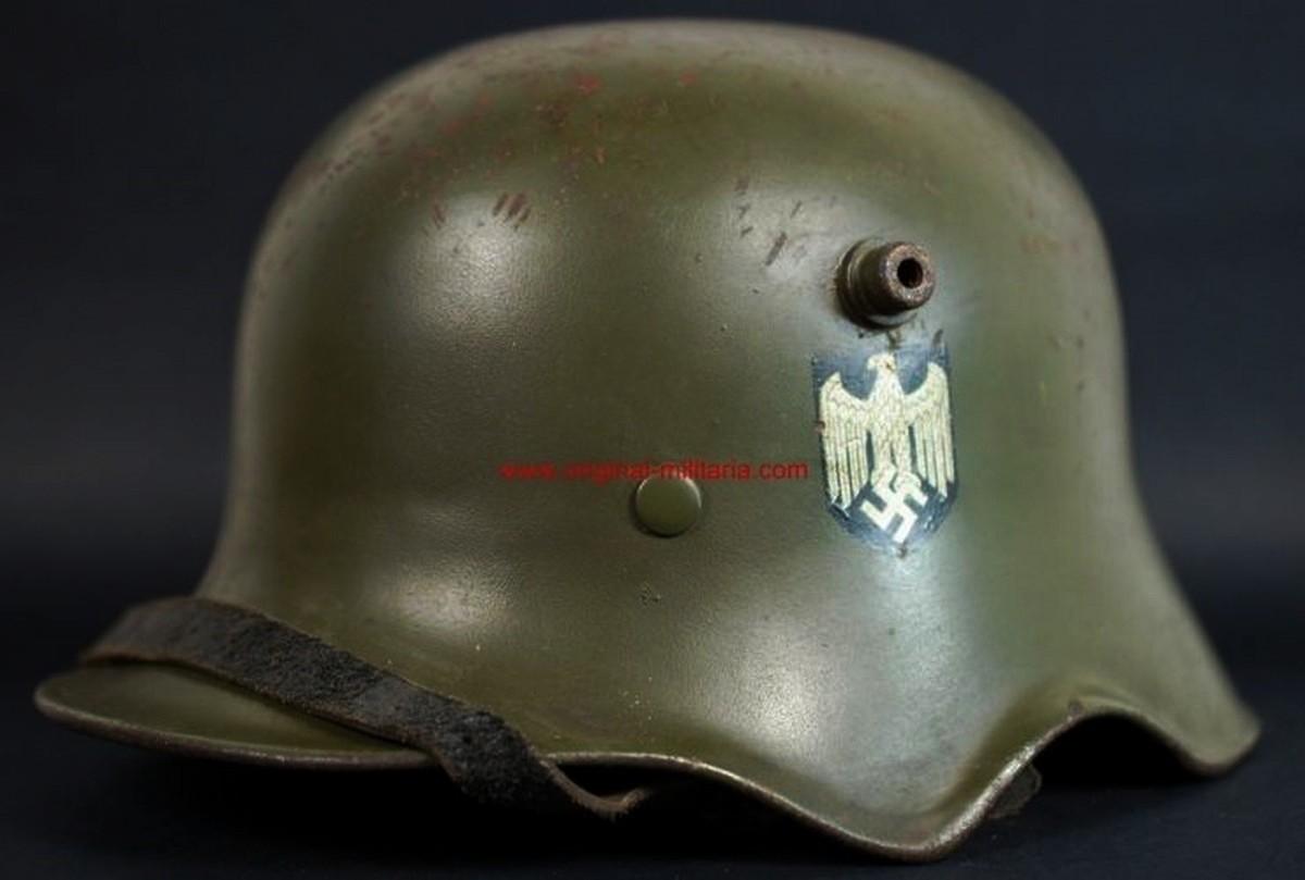 WH/ Casco M1918 Doble Calca de Caballería, ET64